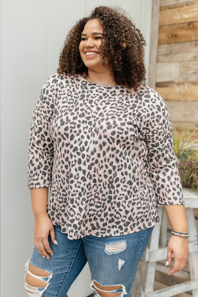Lots O' Spots Top - Onyx & Oak Boutique
