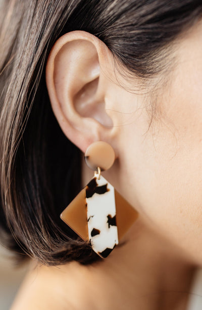 Marble Dreams Earrings - Onyx & Oak Boutique