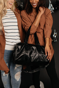 All Inclusive Duffle Bag - Onyx & Oak Boutique