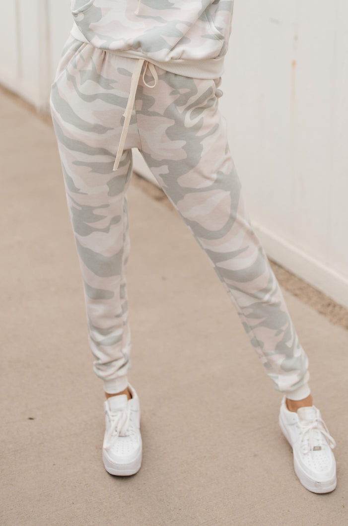 Pastel Meets Camo Joggers - Onyx & Oak Boutique