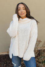 Load image into Gallery viewer, Popcorn And A Movie Sweater in Ivory - Onyx & Oak Boutique