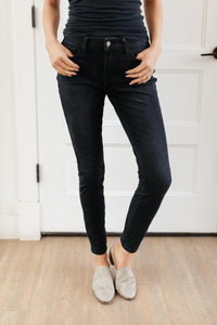 Ready For The Weather Therma Black Jeans - Onyx & Oak Boutique