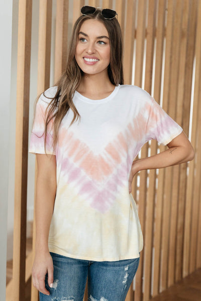 Send More Sun Tie Dye Tee - Onyx & Oak Boutique