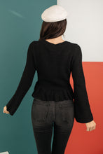 Load image into Gallery viewer, The Hadlee Babydoll Sweater - Onyx & Oak Boutique