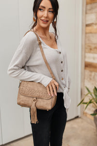 Braids and A Tassel Bag - Onyx & Oak Boutique