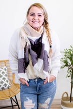 Load image into Gallery viewer, Cuddle & Cozy Plaid Scarf - Onyx & Oak Boutique