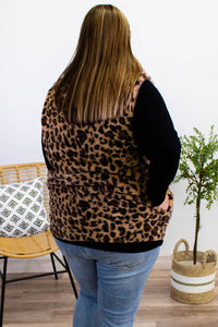Sugar & Spice Reversible Leopard Vest - Onyx & Oak Boutique