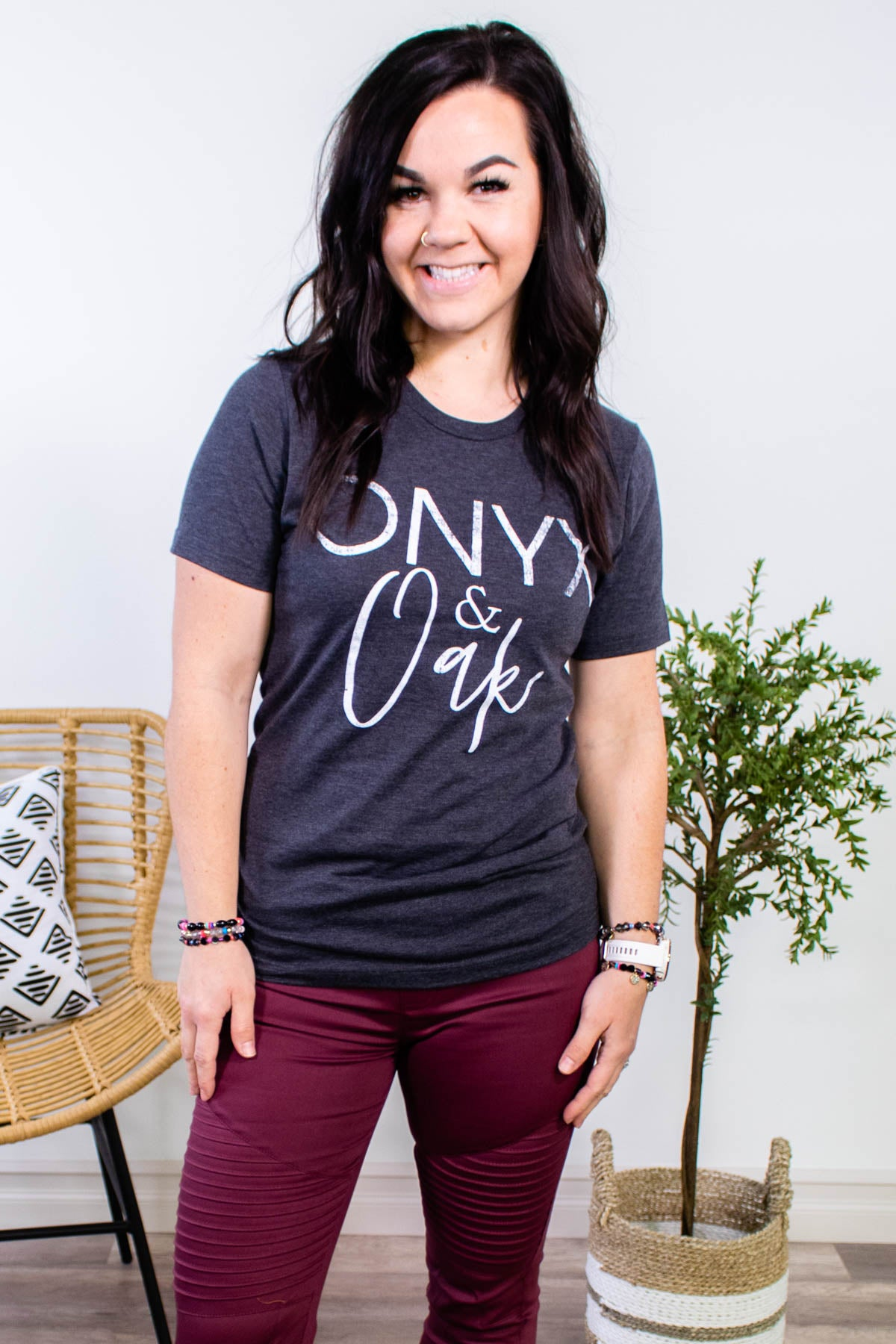 Onyx & Oak Tee - Onyx & Oak Boutique