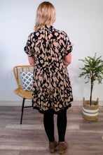 Load image into Gallery viewer, Aubrey Animal Print Dress - Onyx & Oak Boutique