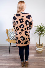 Load image into Gallery viewer, Wish You Well Leopard Cardigan - Onyx & Oak Boutique