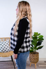 Load image into Gallery viewer, Buffalo Check Quilted Puffer Vest - Onyx & Oak Boutique