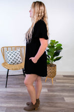 Load image into Gallery viewer, Jamie Button Down Shirt Dress - Onyx & Oak Boutique