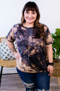 Make a Scene Bleach Tie Dye Shirt - Onyx & Oak Boutique