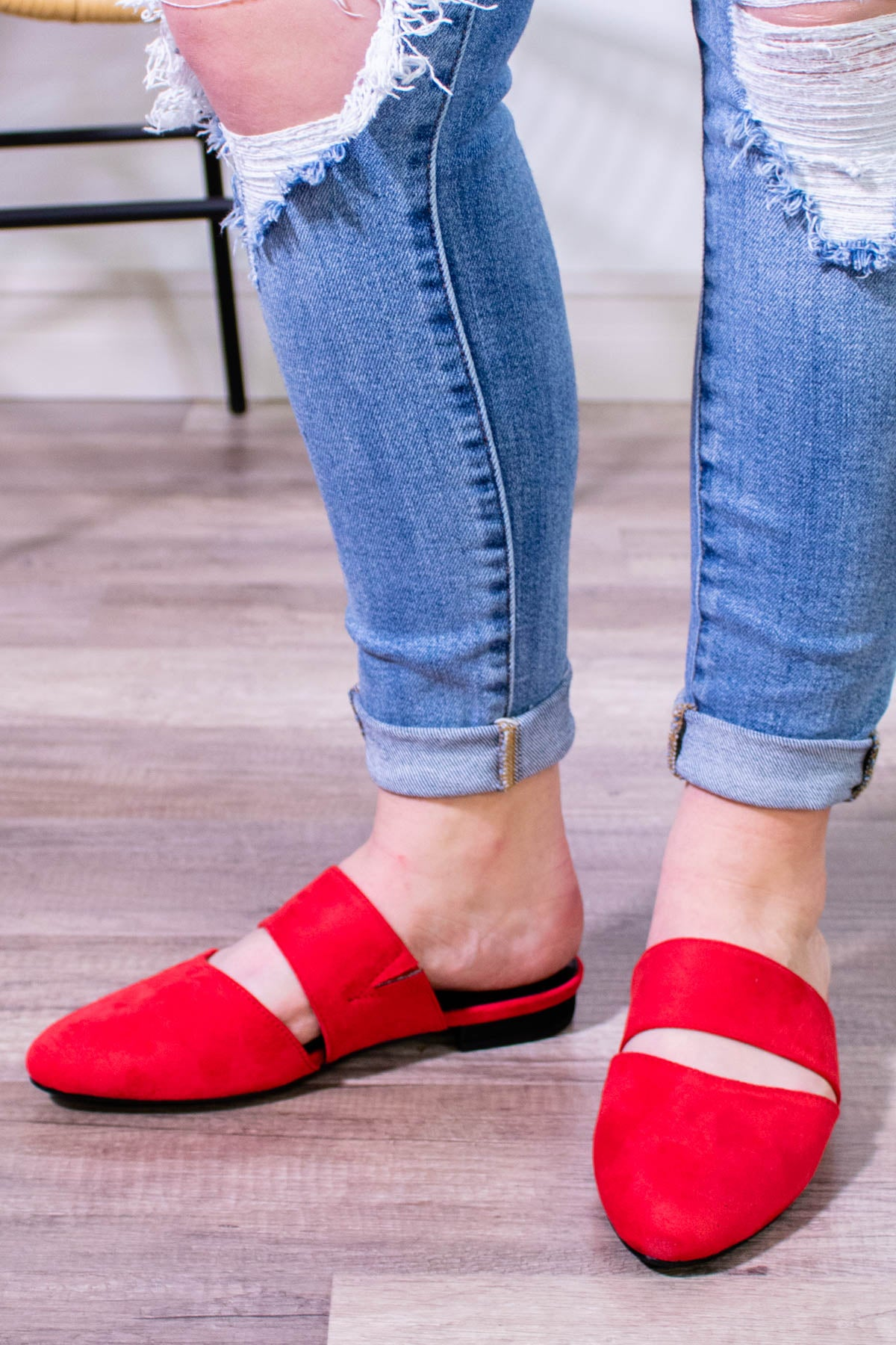 Corky's Carina Mule in Red - Onyx & Oak Boutique