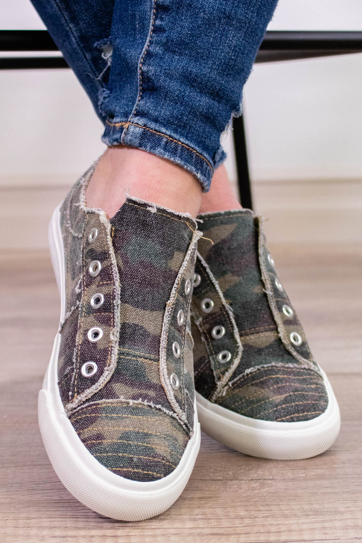 Corky's Babalu Sneaker in Camo - Onyx & Oak Boutique