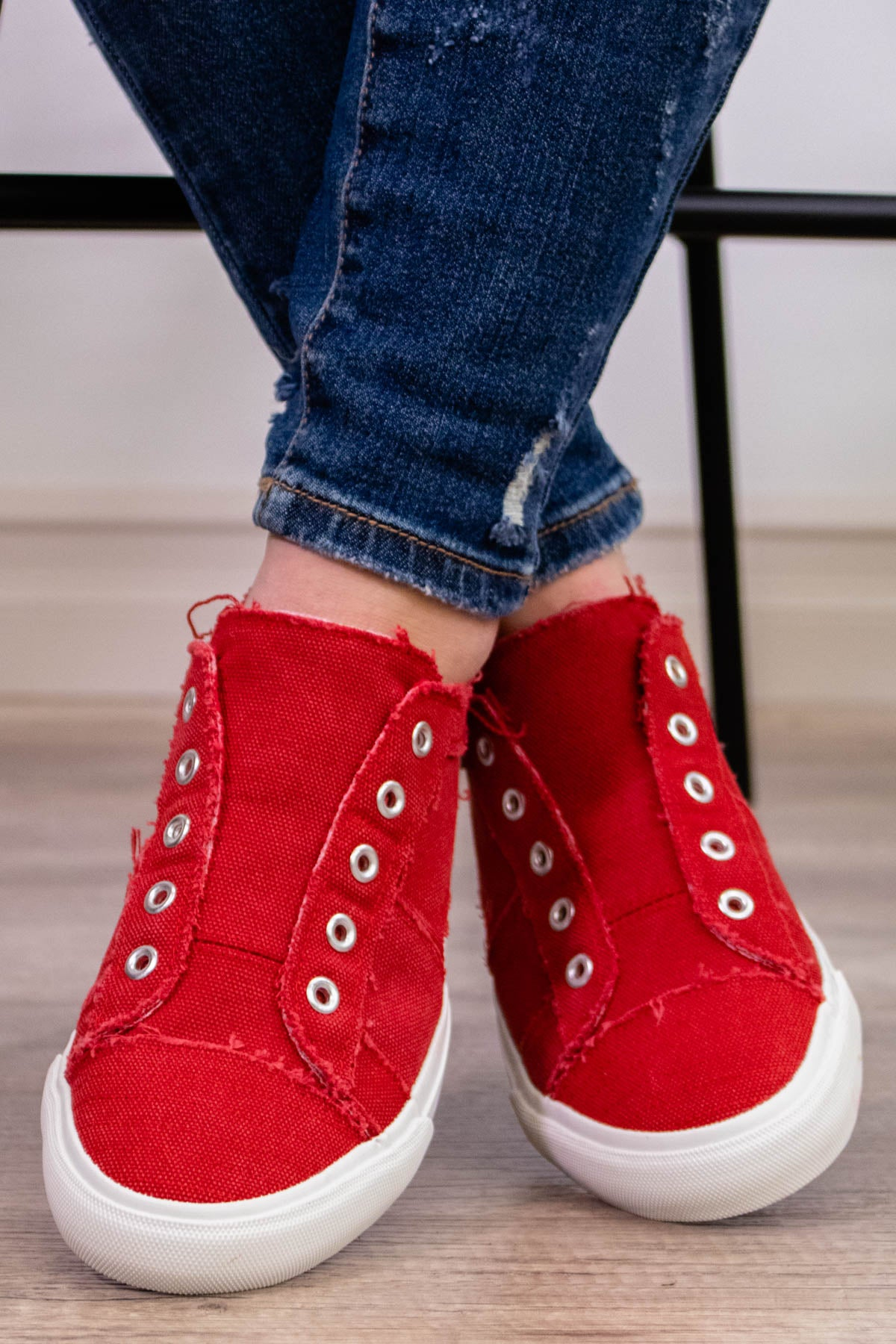 Corky's Babalu Sneaker in Red - Onyx & Oak Boutique