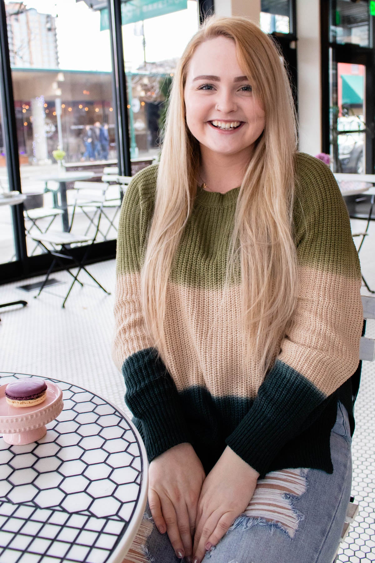Melt with You Olive Ombre Sweater - Onyx & Oak Boutique
