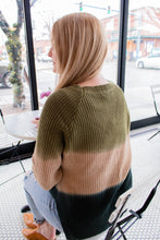 Load image into Gallery viewer, Melt with You Olive Ombre Sweater - Onyx & Oak Boutique
