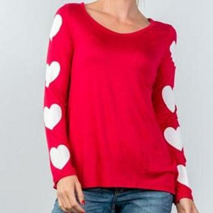 SWEETHEART LONG SLEEVE TEE SHIRT