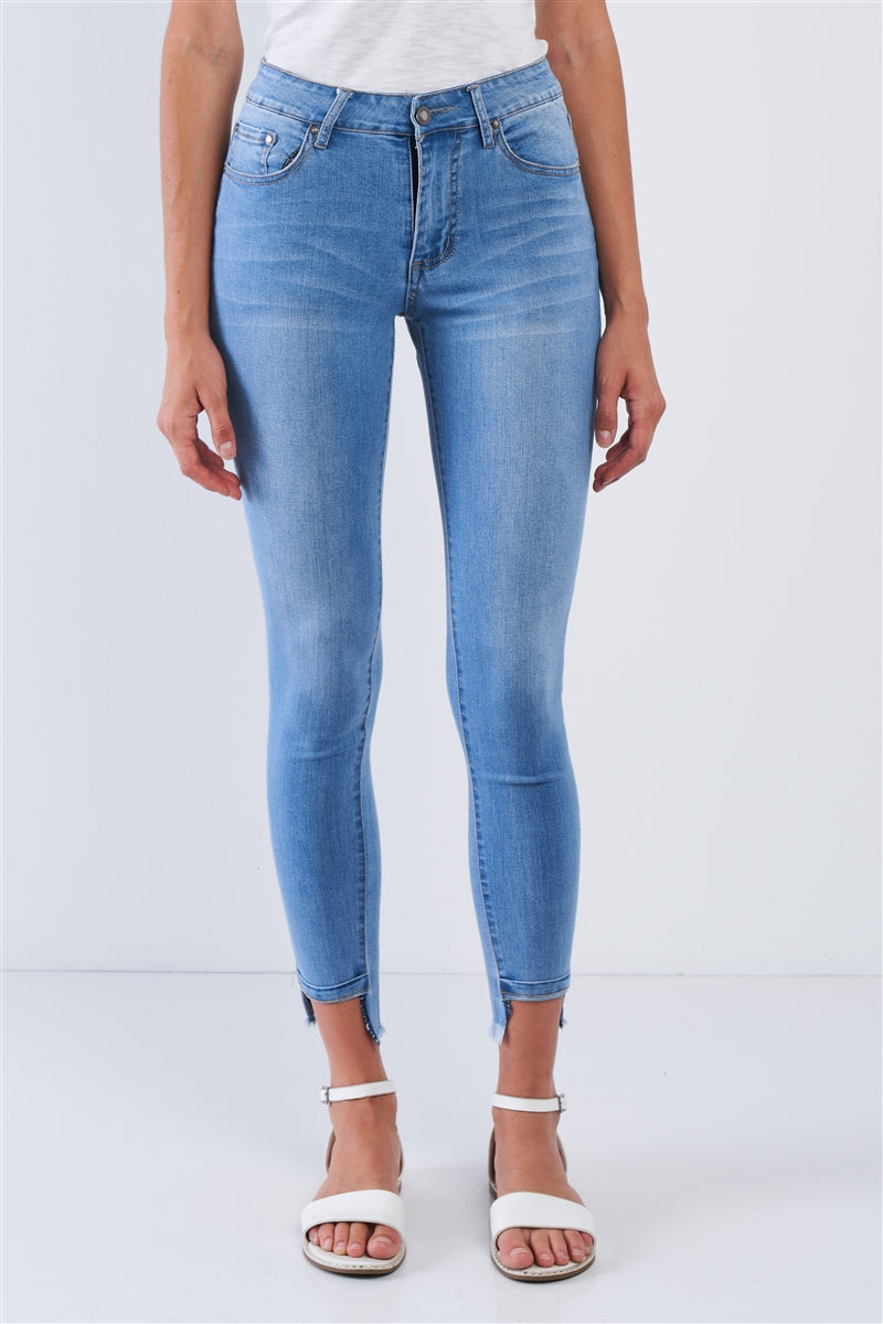 Universal Ankle Skinny Jeans (Light Wash)