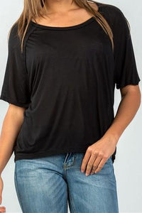 Classic Relaxed Tee (Black)