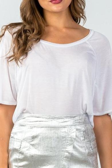 CLASSIC RELAXED TEE (WHITE)
