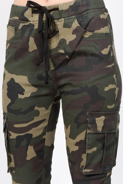 Boot Camp Camo Cargo Jogger Pants