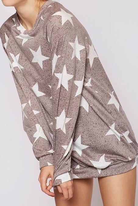 Super Soft Star Sweatshirt