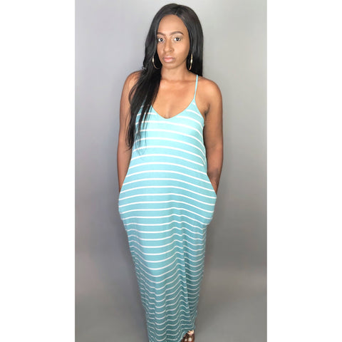 Sundress Season - Teal Blue