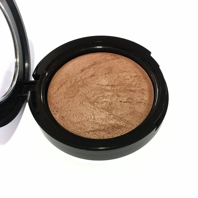 Organic Baked Blush Bronzer- Copper