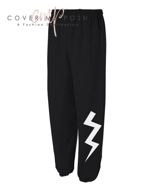 Bolt Sweats (Black)