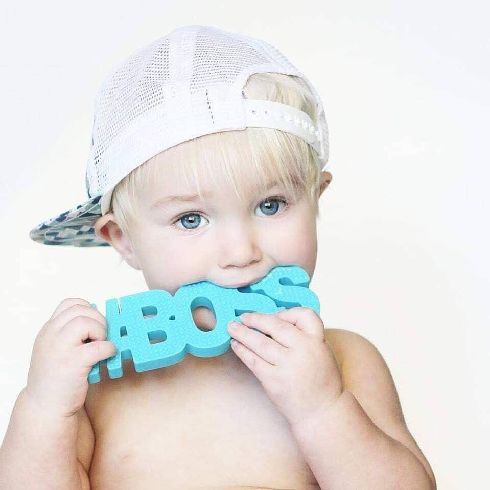 #BOSS BLUE TEETHER (Non-Toxic)