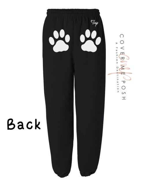 Dog Prints (Ash Grey or Black)