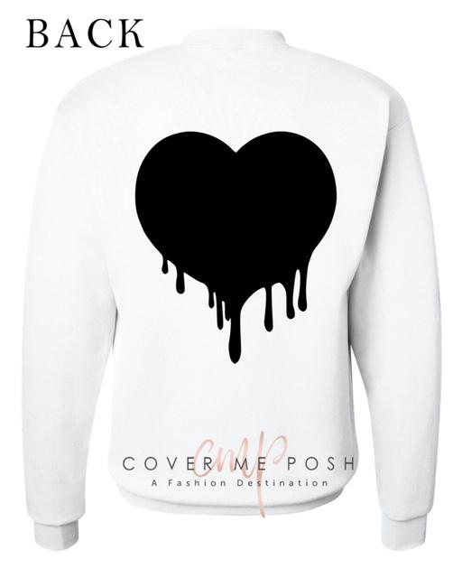 Dripping Heart Sweatshirt