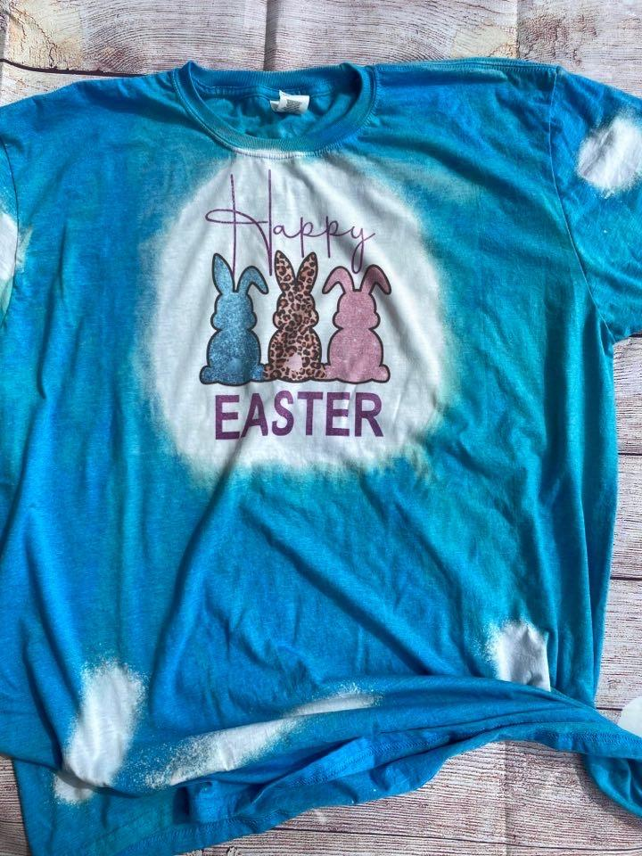 Happy Easter (Bleached Tee)