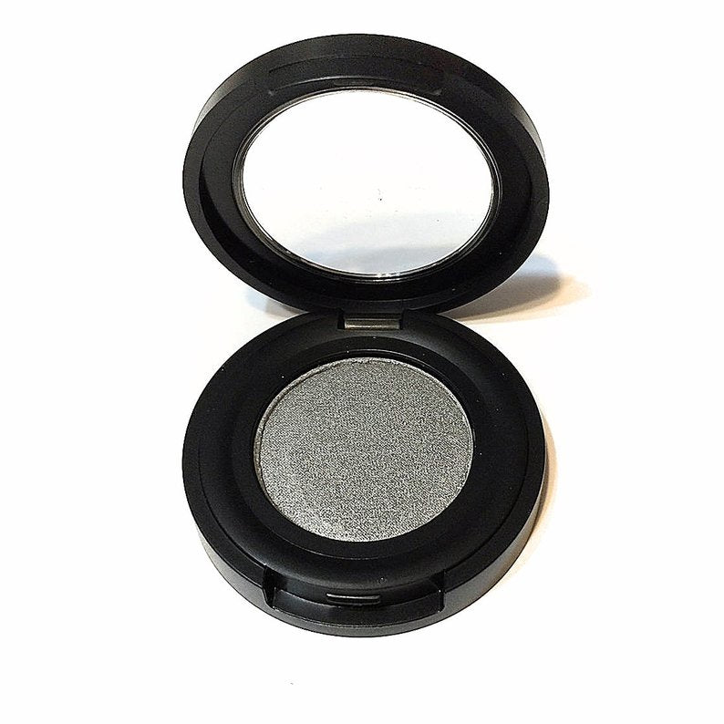 Organic Pressed Mineral Eyeshadow- Pewter/Soft Silver