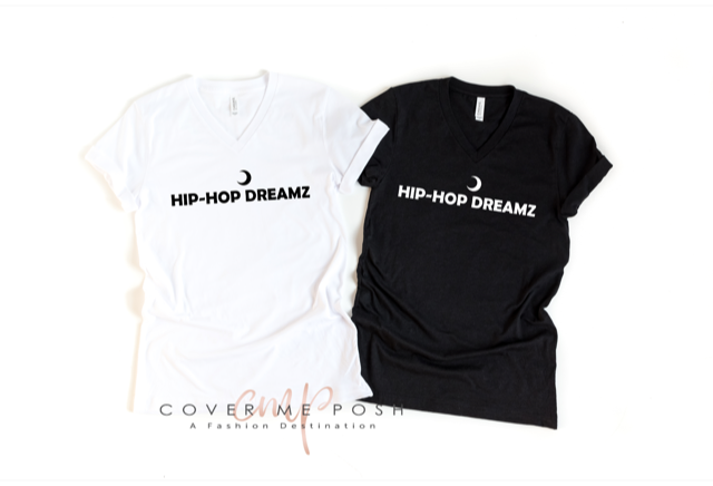 Hip Hop Dreamz Tee (Adult V-neck)