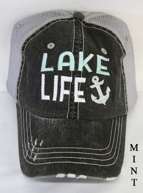 Lake Life Hat (Mint)