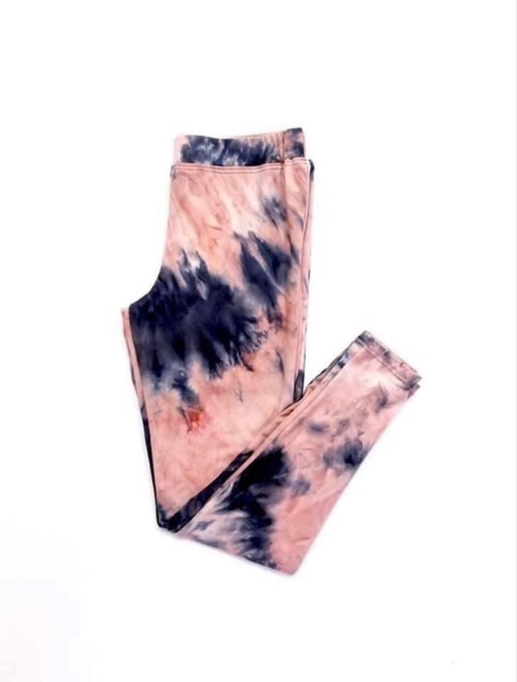 Kids Tie Dye Leggings