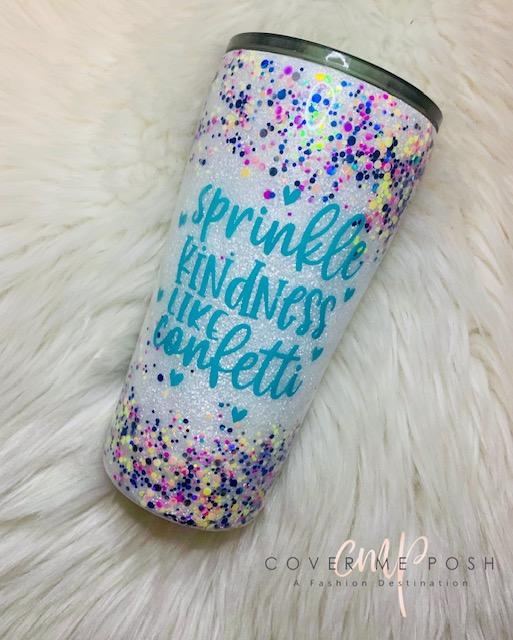 Sprinkle Kindness Tumbler