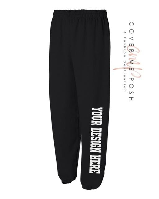Custom Sweatpants (Front Left Leg)