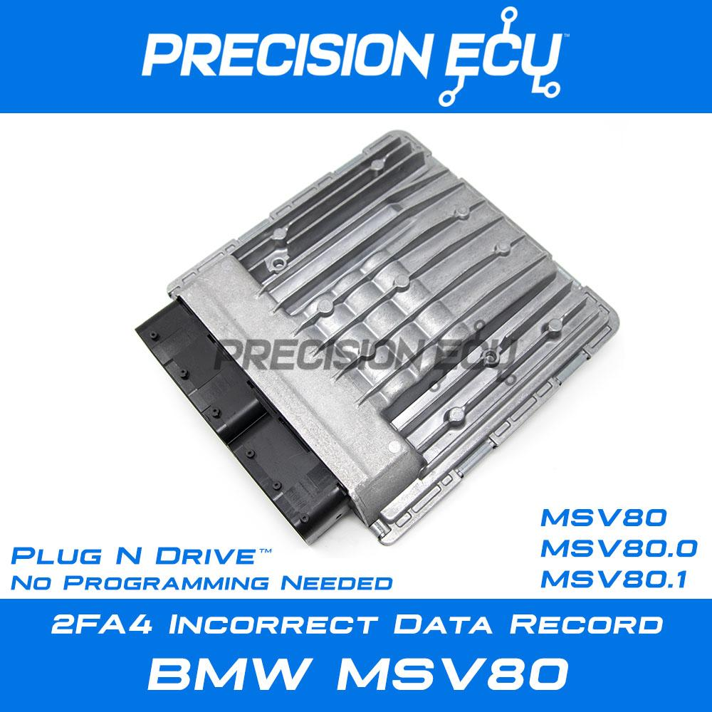 2fa4 incorrect data record bmw dme msv80 repair