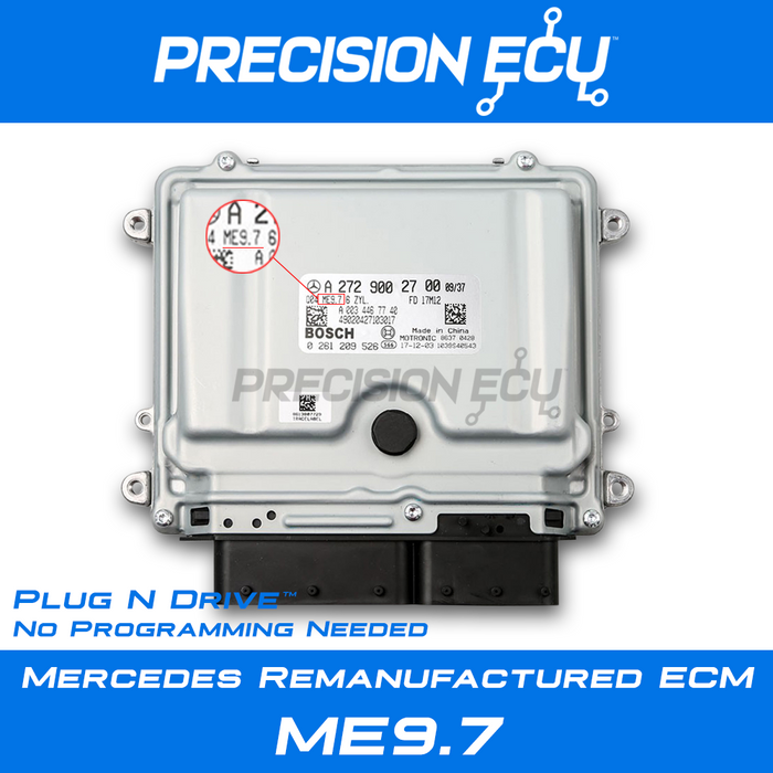 mercedes ecm ml63 amg 164 w164 ecu computer