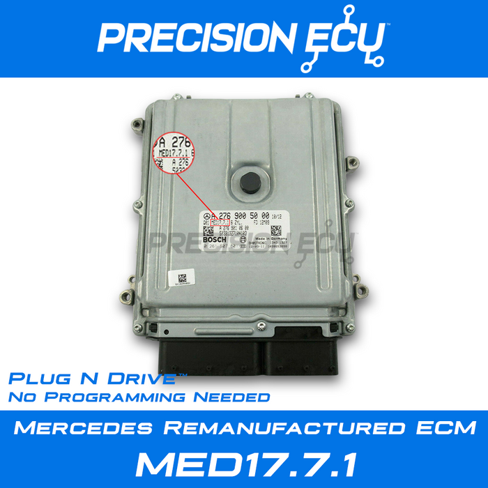 mercedes-e550-ecm-engine computer-c207-a2789001000-a2789001500-a2789001300