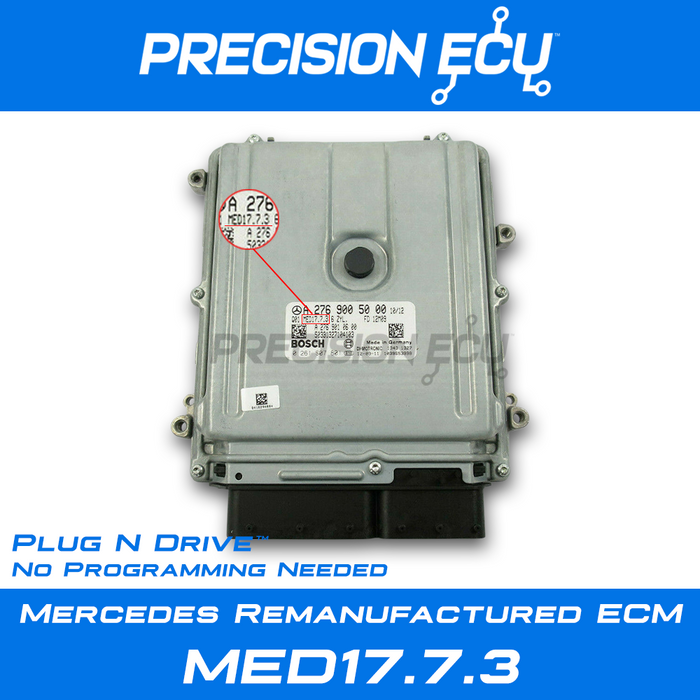 mercedes ecm ml400 w166 166 m276 a2769004500 a2769007300