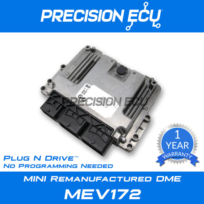mini dme repair r55 n12 mev172 ecu ecm