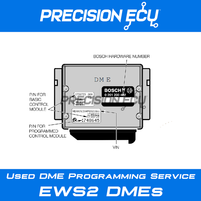 bmw dme repair ews2 ews3.2 program sync adjust