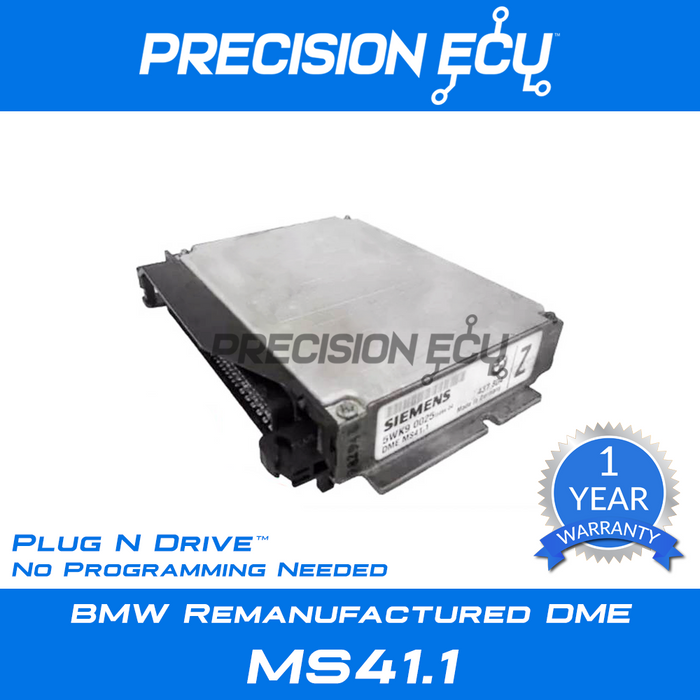 bmw dme computer repair z3 e36 m52 ms41.1