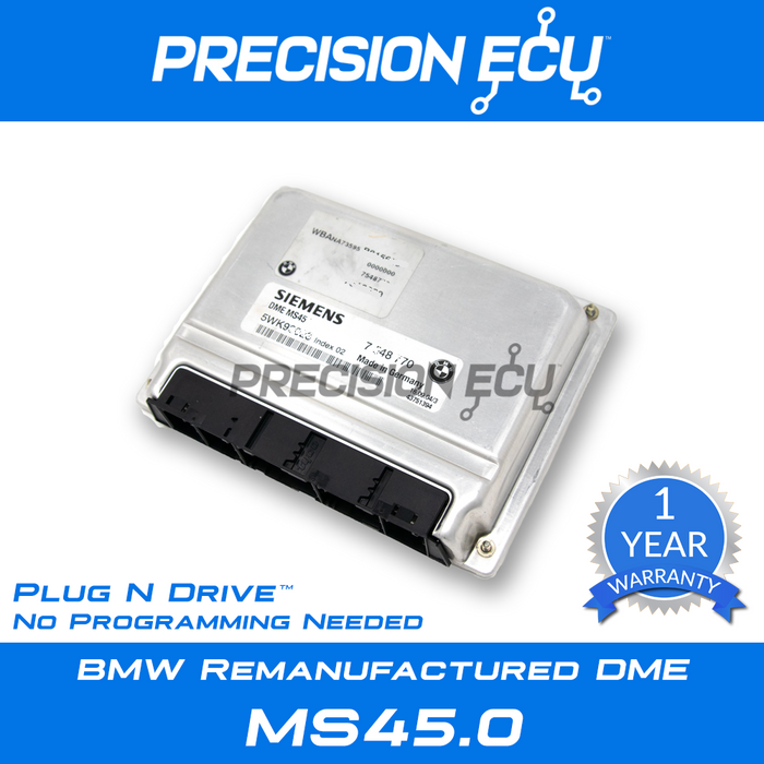 bmw dme computer repair x3 e83 m54 ms45