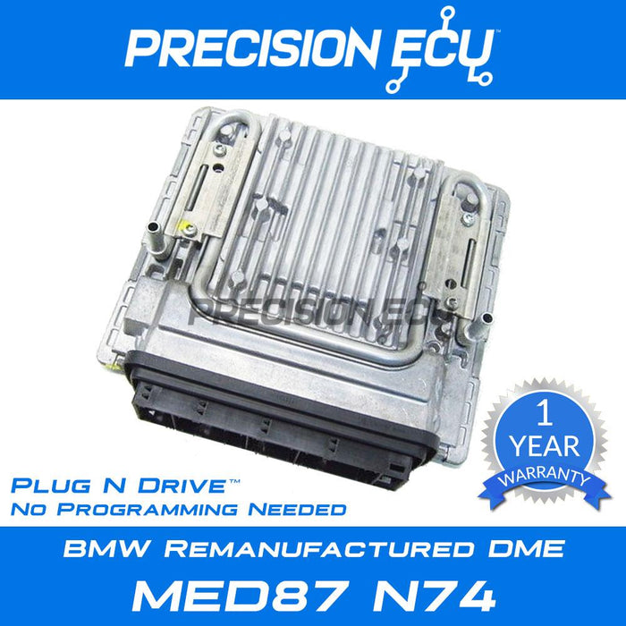 bmw dme 760li n74 msd87 v12 repair 12148619094